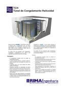 TCH Túnel de Congelamento Helicoidal