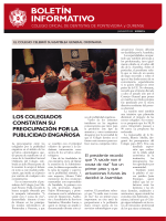 boletín informativo - Colegio de Dentistas de Pontevedra y Ourense