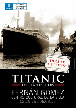 Descargar - Titanic the Exhibition