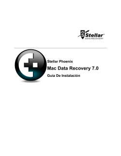 Installation Guide - Mac Data Recovery