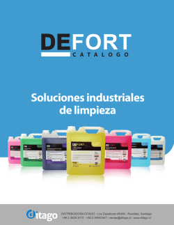 Folleto comercial DEFORT web