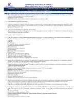 Requisitos para Centros de Formación Marítima
