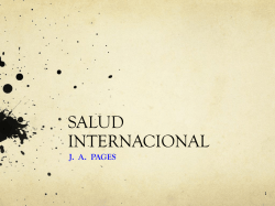 salud internacional (power point)