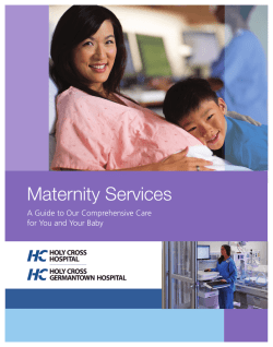 Maternity Services - Holy Cross Health