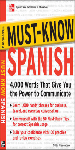 Must know Spanish : 4,000 words that give you the