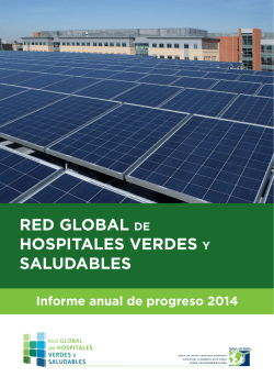 2014 - Red Global de Hospitales Verdes y Saludables