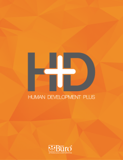 + INFO - Human Development Plus