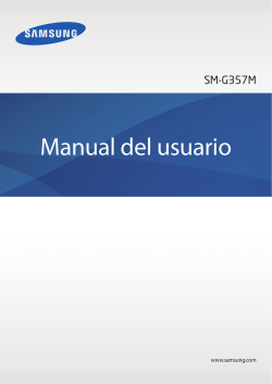 Manual del usuario