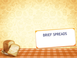 BRIEF SPREADS - unigamema.com