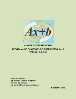 Manual del Programa Ax version 1.01