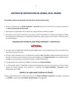 Centros - Apemal