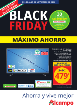 BLACK FRIDAY MAXIMO AHORRO