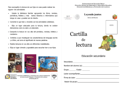 Cartilla lectura - sectec86.edu.mx