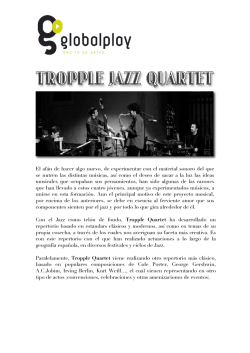 TROPPLE JAZZ QUARTET