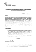 Resolución Proveedores Inscritos Marzo 2015