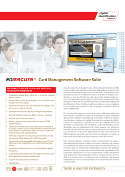 Card Management Software Suite Standard
