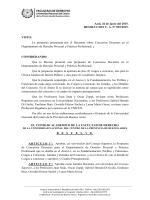 Resolución de Consejo Académico n° 092-2015