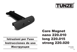 Care Magnet nano 220.010 long 220.015 strong 220.020
