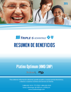 RESUMEN DE BENEFICIOS - Triple