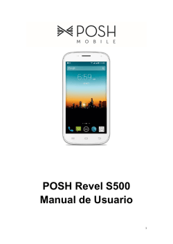 POSH Revel S500 Manual de Usuario