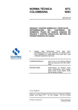 NTC 5083 - ICONTEC Internacional