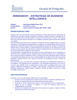 estrategia de business intelligence