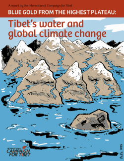 Tibet`s water and global climate change