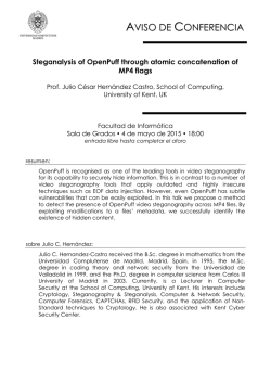 Steganalysis of OpenPuff through atomic concatenation of MP4 flags