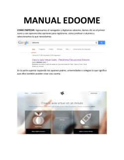 MANUAL EDOOME - WordPress.com