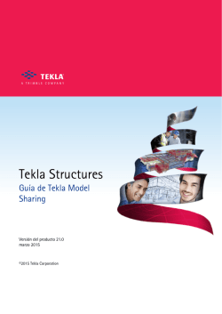 Guía de Tekla Model Sharing