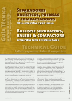 Technical Guide Guía Técn ica