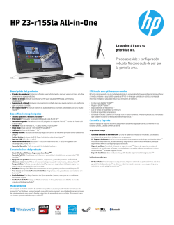HP 23-r155la All-in-One