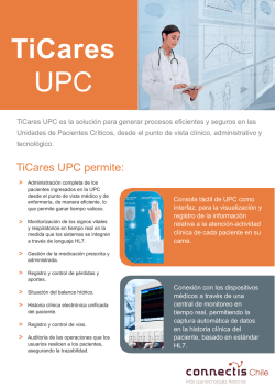 TiCares UPC - Connectis Chile