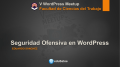 Descargar  - V Jornada Meetup WordPress Córdoba