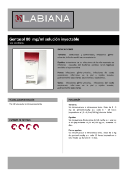Ficha Gentasol 80 mg SP