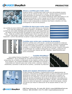 PRODUCTOS - KASCO SharpTech