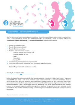 BabyTest Plus - Test Prenatal No Invasivo