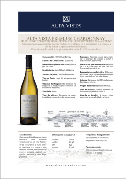 Descargar ficha - Alta Vista Wines