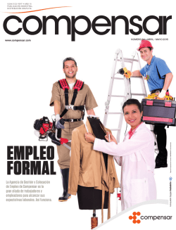 EMPLEO FORMAL - Revista Compensar
