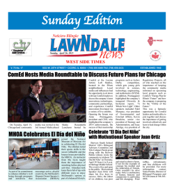 Sunday Edition - Lawndale News