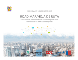 ROAD MAP/HOJA DE RUTA