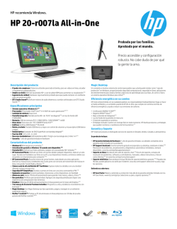 HP 20-r007la All-in-One