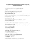 relación de alumnos y archivos de prácticas
