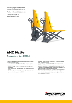 Transpallet Manual AMW AMX 10 10e