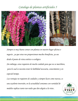 Catalogo de plantas artificiales 5