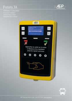 Futura 3A - AEP Ticketing Solutions