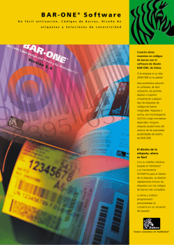 BAR-ONE® Software