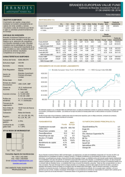 Fund Fact Sheet A4 - Brandes Investment Partners