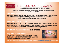 POST-DOC POSITION
