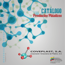 + Productos - Coveplast, SA